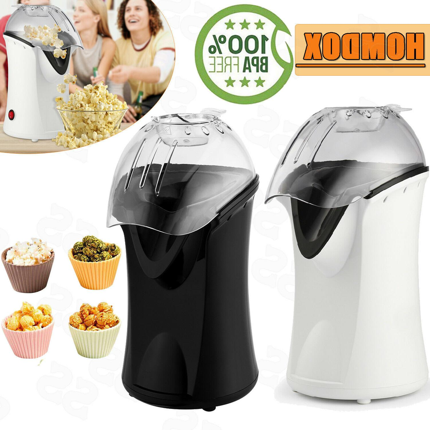 popcorn maker machine 1200w hot air popcorn