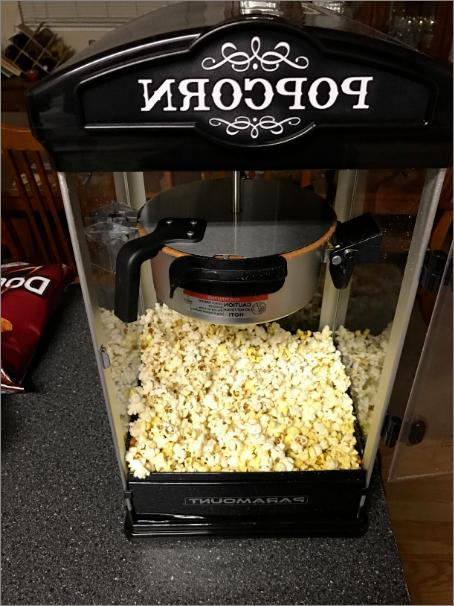 Popcorn Movie Theater Party Use Flexible Capacity 8