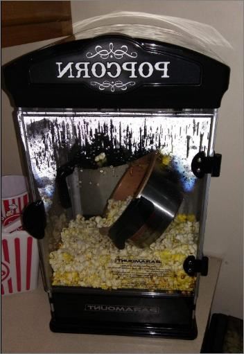 popcorn maker machine for movie theater party