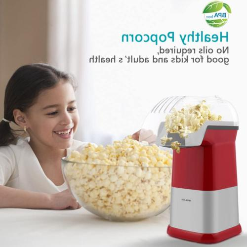 Popcorn Maker Air Popcorn Poppers Home Oil To Use