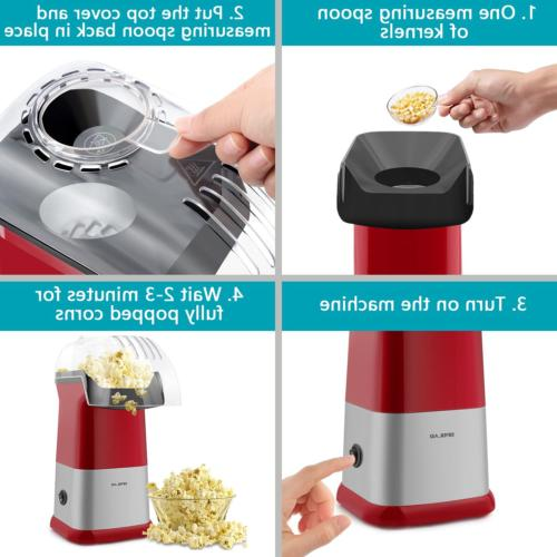 Popcorn Machine Air Popcorn Poppers Home To