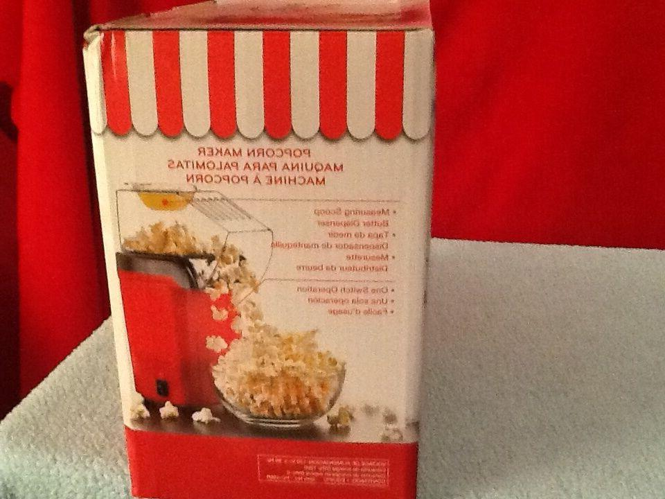 Brentwood Popcorn Pops Great For RED PC486