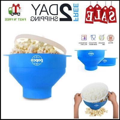 popcorn microwave popper silicone maker
