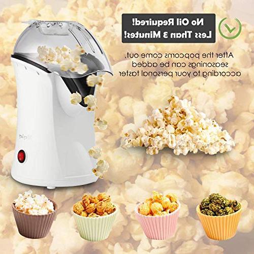 Popcorn Popper, Hot Popcorn Maker, Removable Popcorn Maker for Home,No Needed