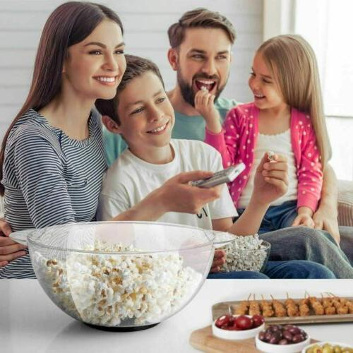 6QT Popper Electric Hot Oil Popcorn Family Party