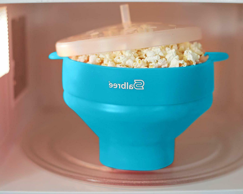 Popcorn Silicone Popcorn Maker Bowl