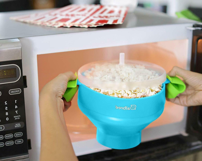 Popcorn Popper Popcorn Maker Collapsible Bowl