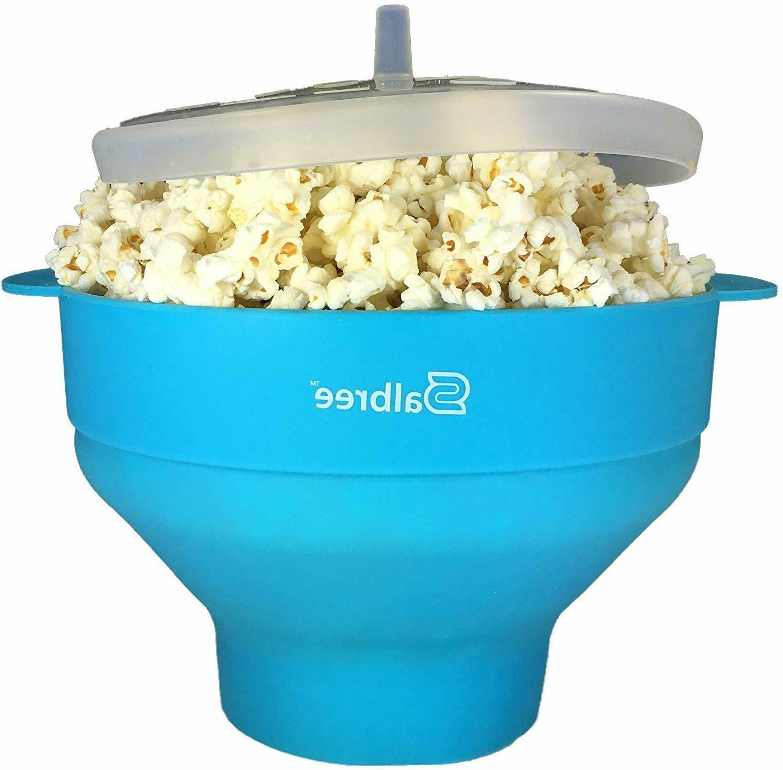 popcorn popper microwave silicone popcorn maker kitchen