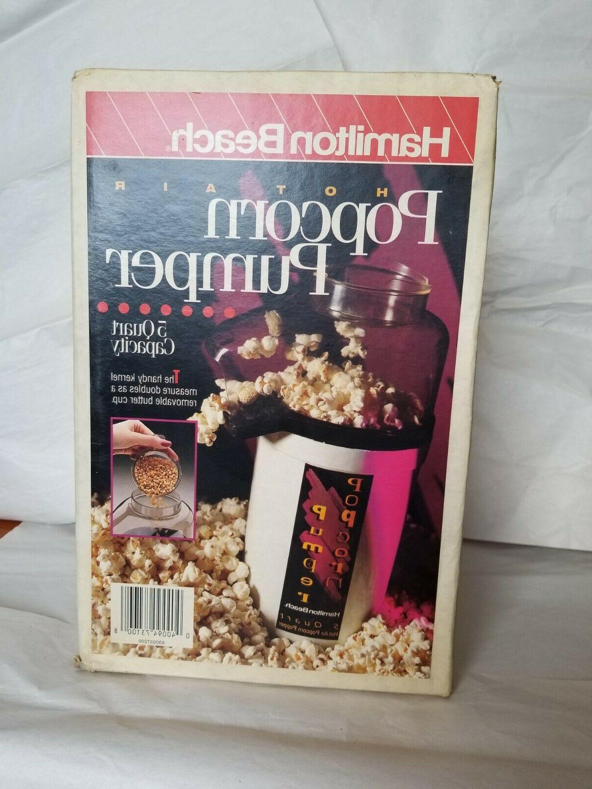 popcorn pumper 5 quart popper model pp01