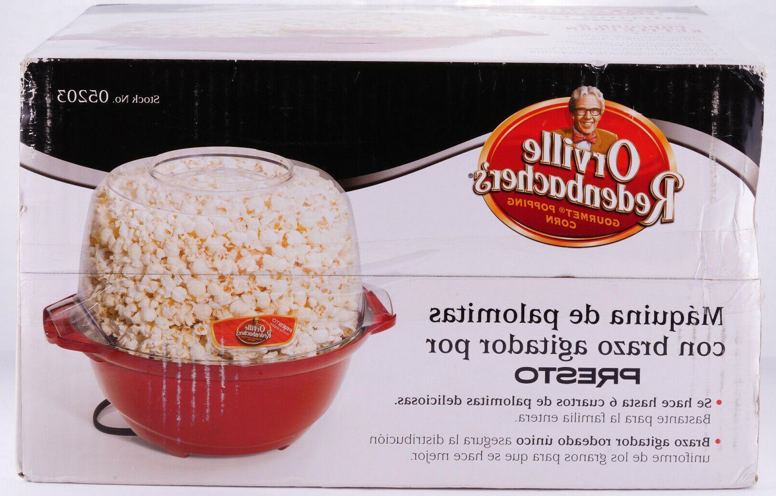 Popcorn Stirring Orville Redenbacher's 6 Brand New