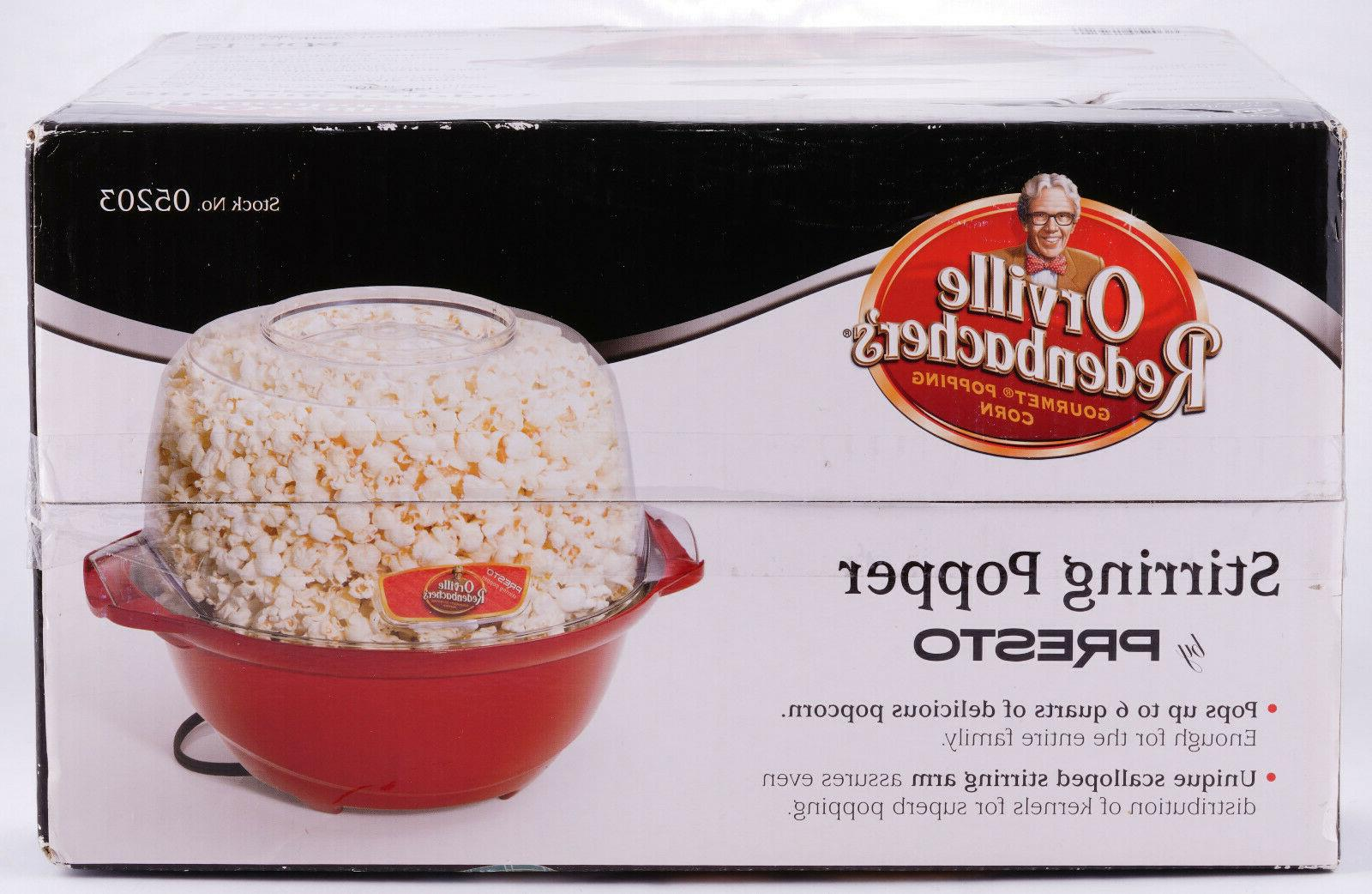 Popcorn Stirring Redenbacher's Presto Brand 😁