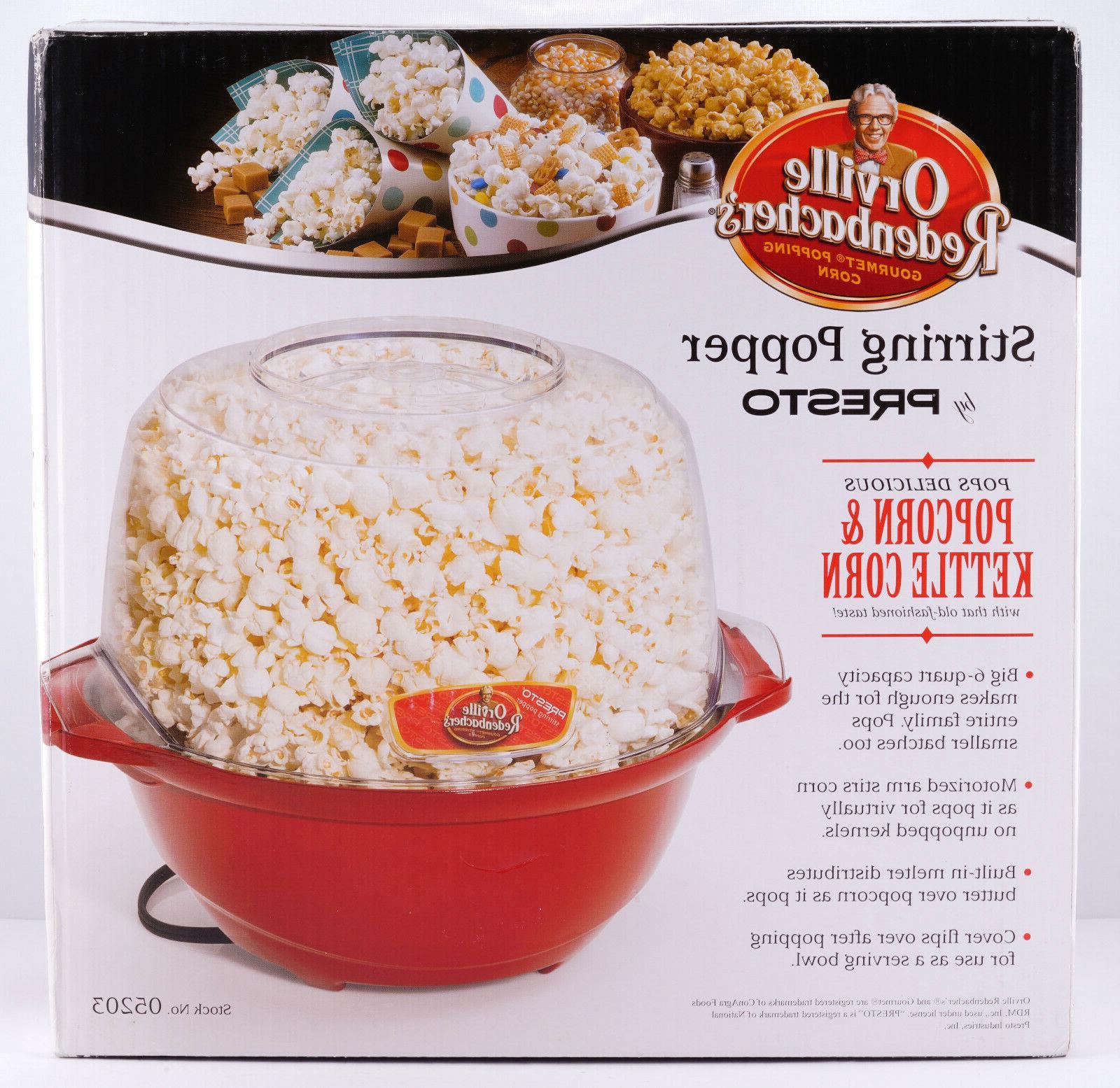 popcorn stirring popper orville redenbacher s 6
