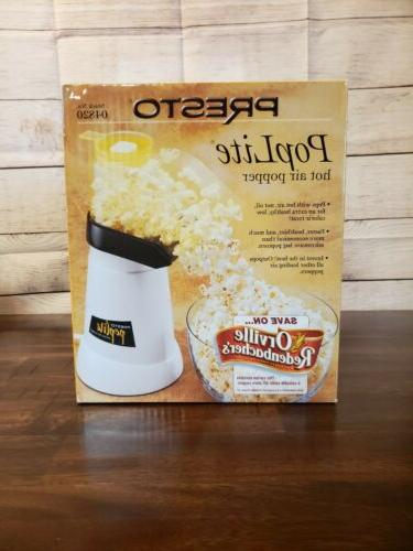 poplite gourmet hot air popcorn popper model
