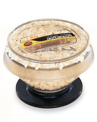 powerpop 04830 popcorn maker oil serving bowl