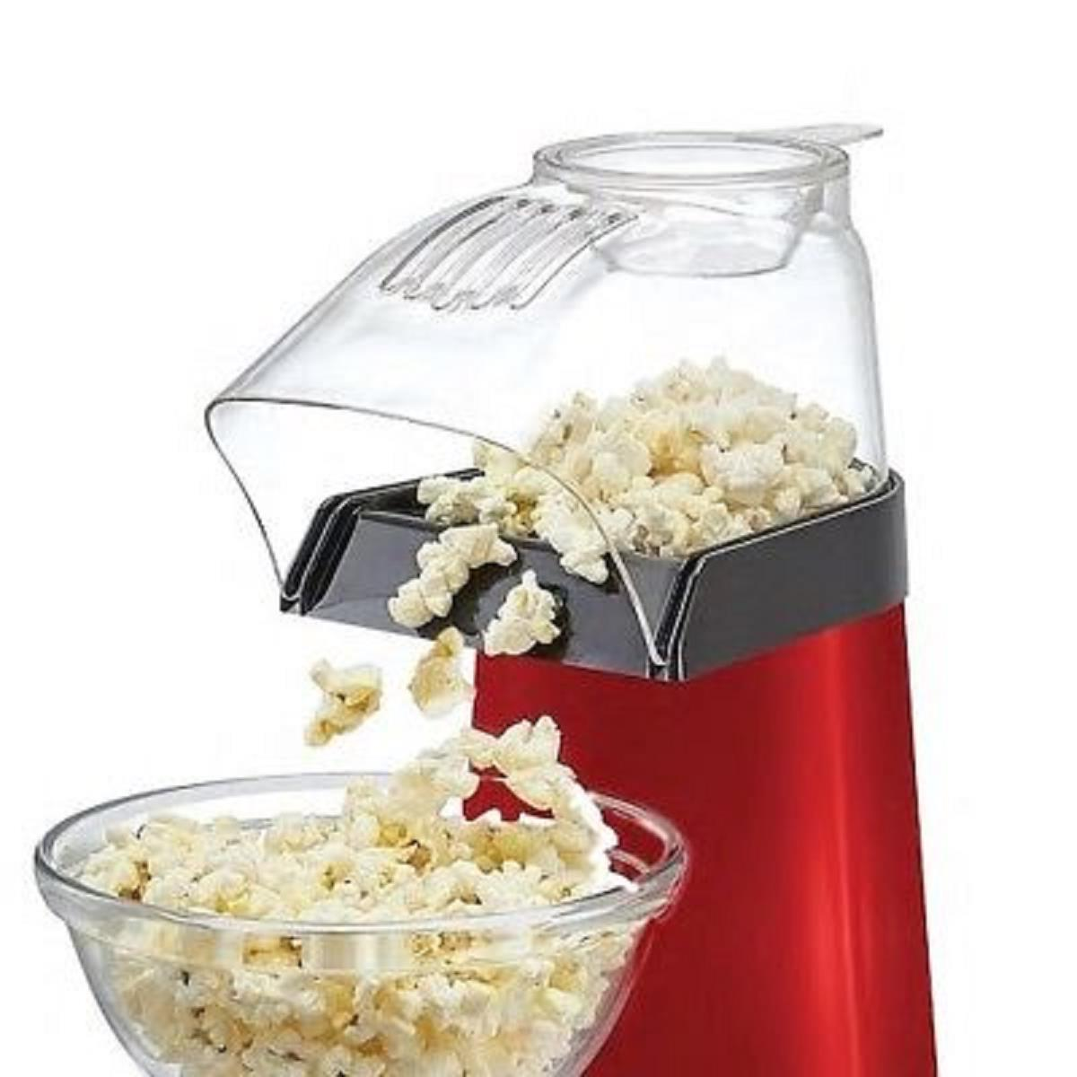 red 16 cup hot air popcorn popper
