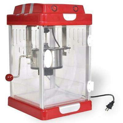 red bar table popcorn popper