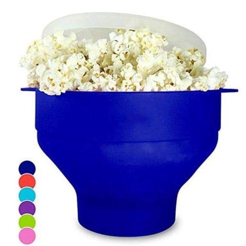 silicone microwave popcorn popper maker