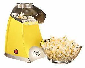 spp500yellow star pop hot air popcorn popper