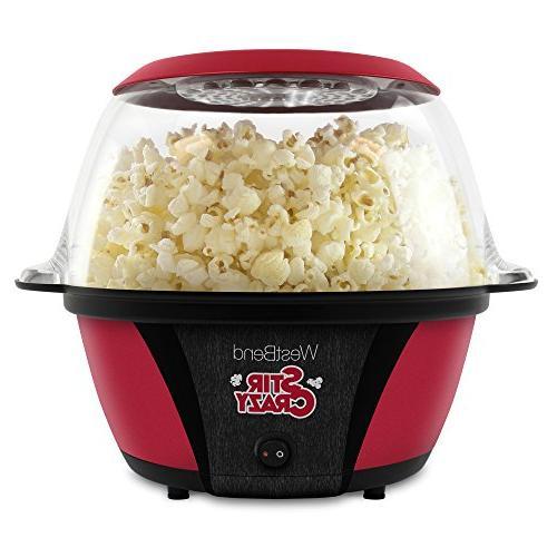 stir crazy popcorn maker machine
