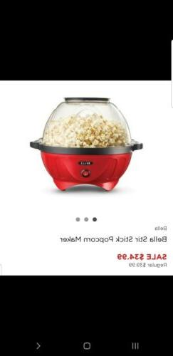 stir strike popcorn maker