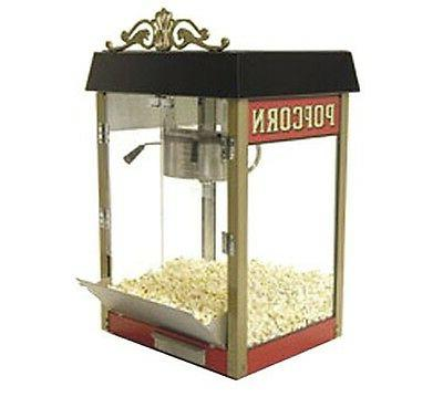 street vendor popcorn machine antique
