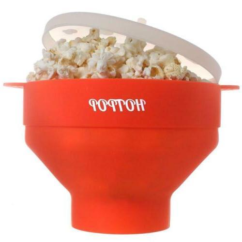 the original microwave popcorn popper silicone maker