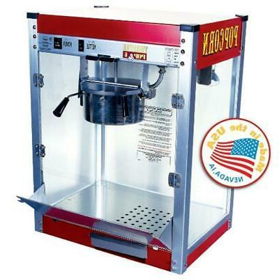Theater Pop 6 oz. Popcorn Machine, Theater Style Machine, 5-