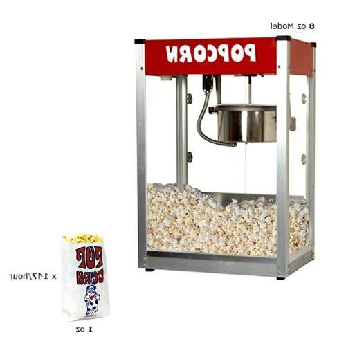 theater popcorn machine thrifty red