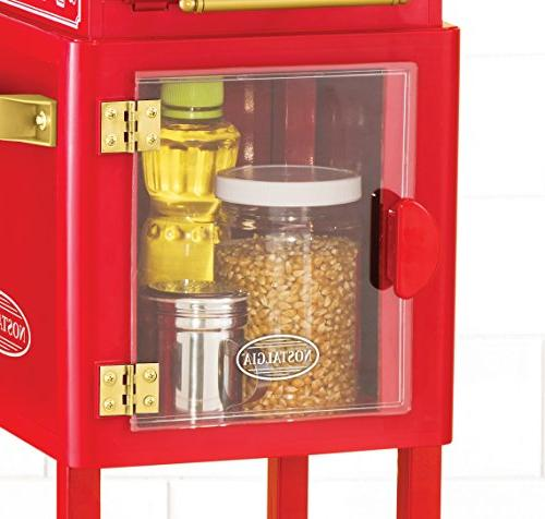 Nostalgia Electrics Vintage Collection Popcorn Cart 1