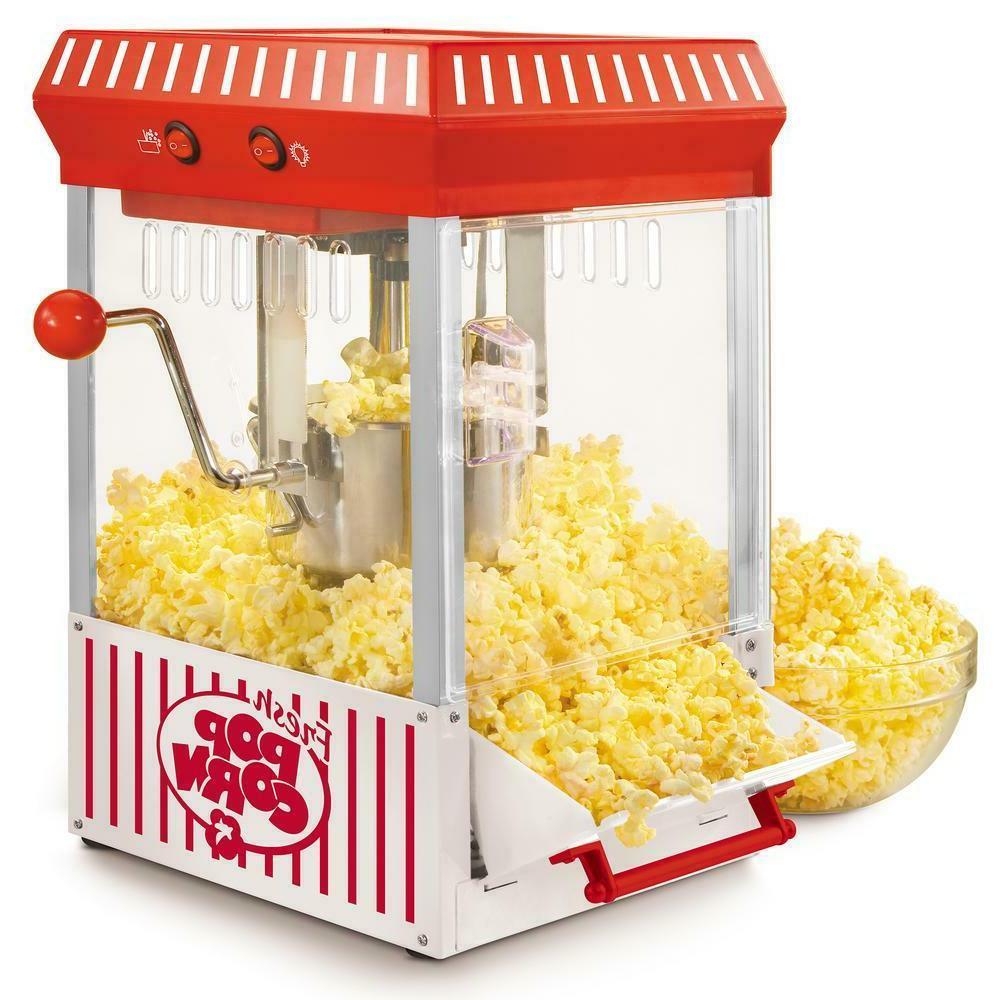 vintage collection kettle popcorn maker | nostalgia popper m