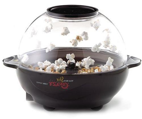 New 82306 Stir Crazy Electric Popcorn Popper