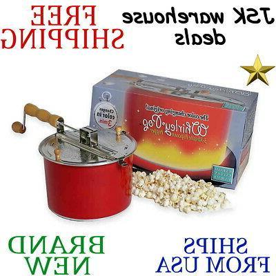 whirley pop changing popcorn popper