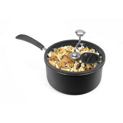 Generic Popcorn Maker Silicone-Rimmed