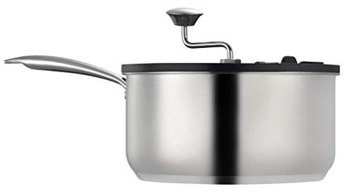 Ozeri Snack Maker in Stainless Steel Mixer, 5.5 Qt