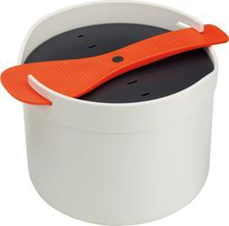 Joseph Joseph M-Cuisine Microwave Pasta Cooker, Orange/Beige