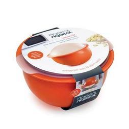 M-Cuisine Microwave Popcorn Popper Bowl Built-In Heat Resist