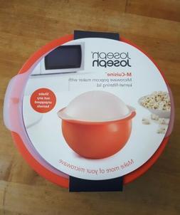 Joseph Joseph M-Cuisine Microwave Popcorn Popper Bowl Microw