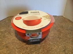 m cuisine microwave popcorn popper maker bowl