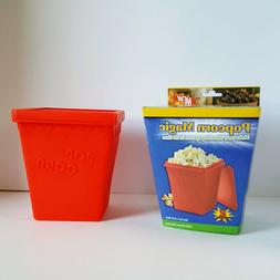 Magic Pop Silicone Popcorn Popper Use in Microwave or Oven N