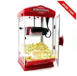 Magic Popcorn Maker Machine 8oz Capacity Hot-Oil Popper Syst