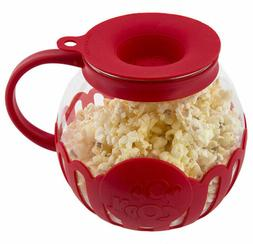 Ecolution Micro-Pop Microwave Popcorn Popper 1.5 Quarts, Sna