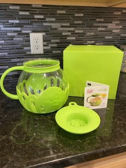 Ecolution micro-pop microwave popcorn popper 3qt Lime Green