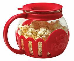 Ecolution Micro-Pop Microwave Popcorn Popper 1.5 QT - Temper