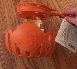 Ecolution Micro-Pop Microwave Popcorn Popper Large 3QT Orang