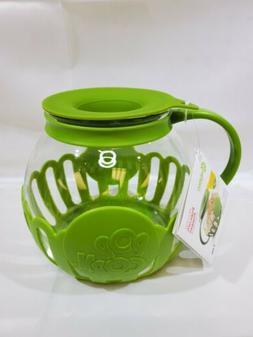 Ecolution Micro-Pop Popcorn Popper Green 3 QT New