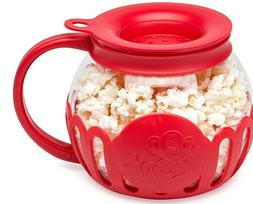3-in-1 Micro-Pop Popcorn Popper,Silicone Lid ,Microwave,1.5Q