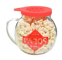 Home-X Microwave Popcorn Maker 1.5 Quart Microwavable Popper