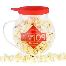 Galashield Microwave Popcorn Popper 1.5QT Temperature Safe G