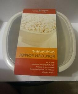 Nordic Ware Microwave Popcorn Popper 12 Cups - 60120 - White