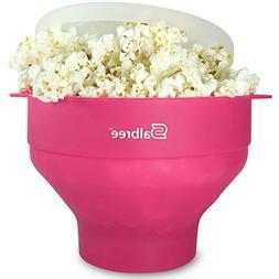 The Original Salbree Microwave Popcorn Popper, Silicone Popc